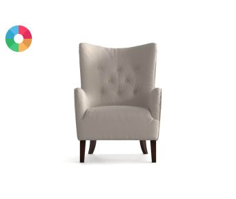 FAUTEUIL TED LAPIDUS SALLY TOUCHER COTON